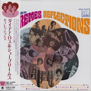 DIANA ROSS & THE SUPREMES - REFLECTIONS (MOTOWN 1967) Jap mastering cardboard sleeve + 2 bonus