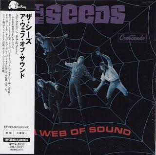 SEEDS - A WEB OF SOUND (GNP-CRESCENDO 1966) Jap mastering cardboard sleeve + 1 bonus