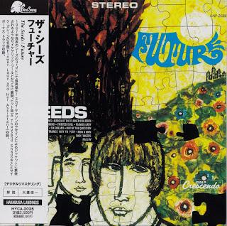 SEEDS - FUTURE (GNP-CRESCENDO 1967) Jap mastering cardboard sleeve + 2 bonus