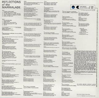 MARMALADE - REFLECTIONS OF THE MARMALADE (DECCA 1970) Jap mastering cardboard sleeve + 9 bonus
