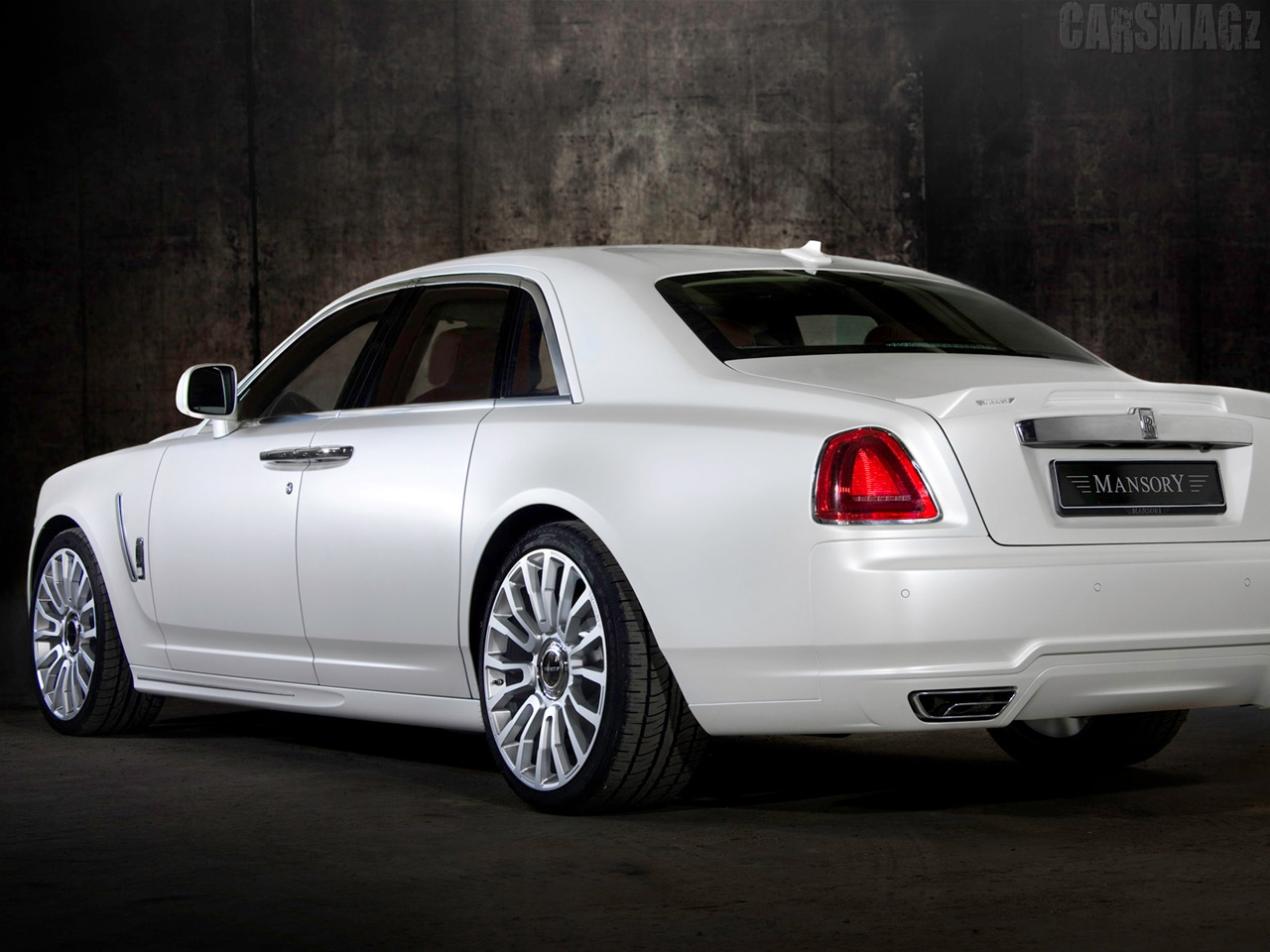 Royce White Ghost Mansory