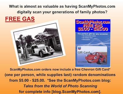 freegas - FREE GAS - Chevron Gas Card With ScanMyPhotos.com Orders