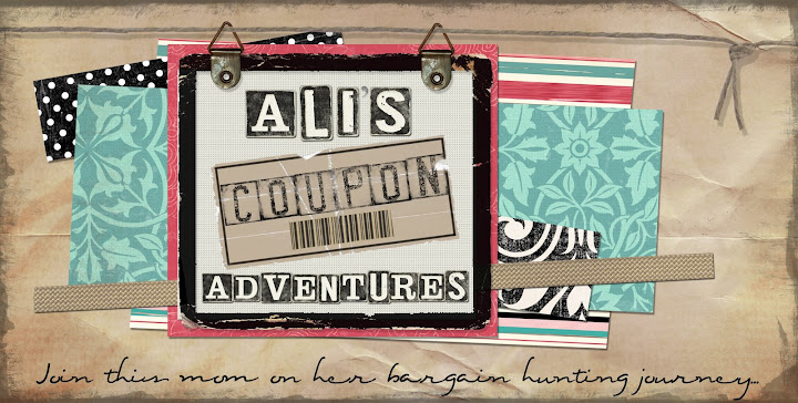Ali's Coupon Adventures