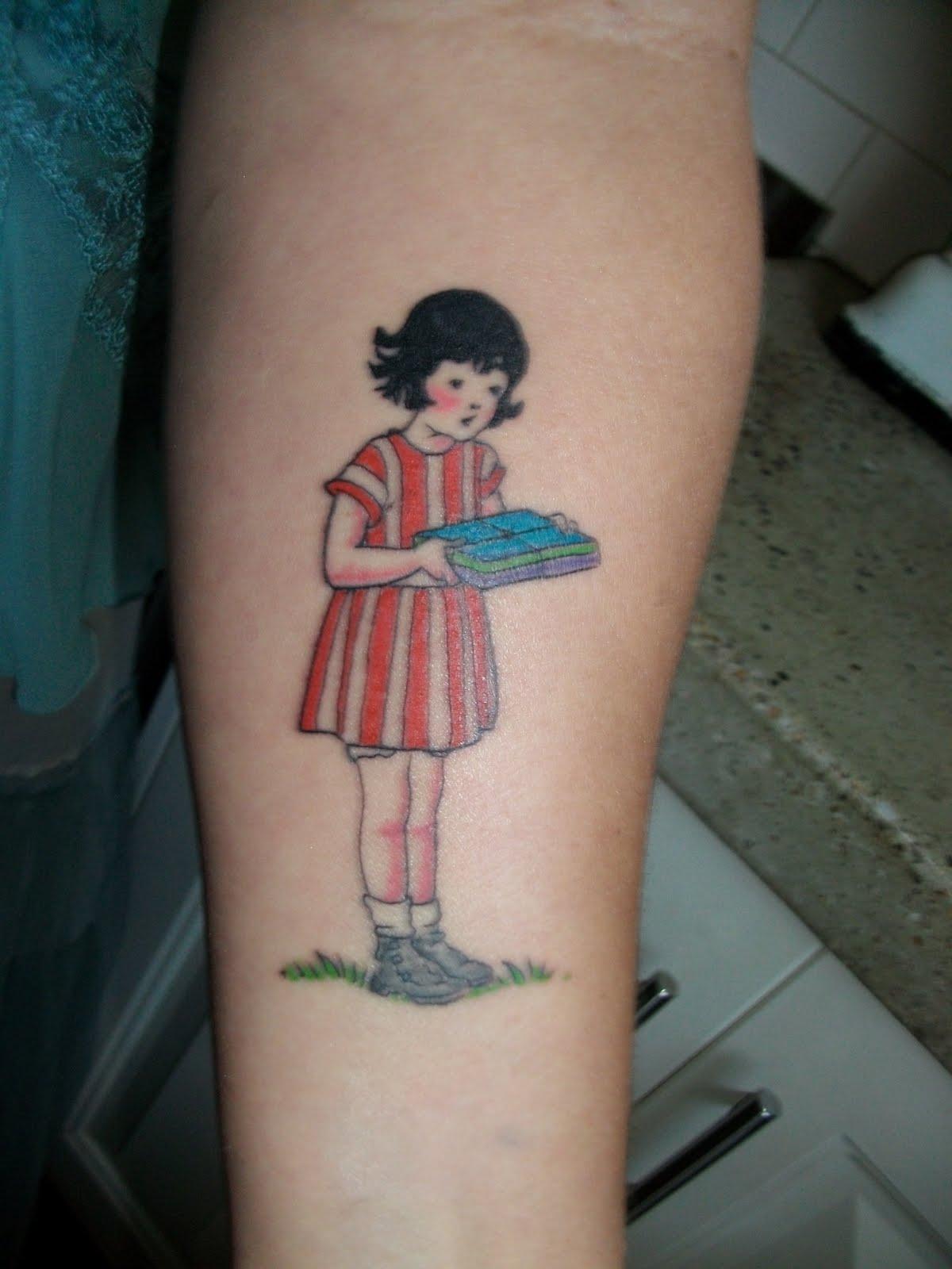The lemonade girl my first tattoo for My tattoo girls
