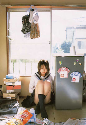 Emi Hasegawa : Asian School Girl