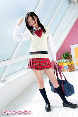 Aino Kishi : School Girl Uniform