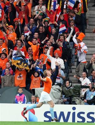 Dirk Kuyt : Euro2008 Netherlands vs France