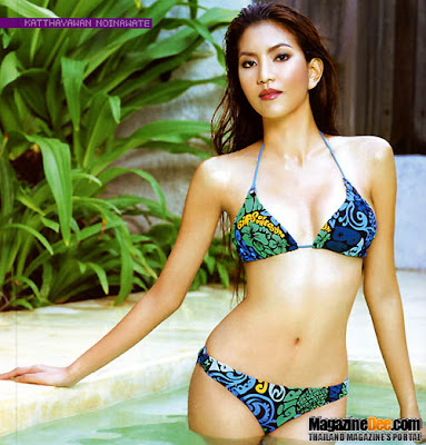 Hot Sexy Thai Bikini Model : Saryparn - Kuttayawan Noynawet