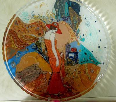 роспись стекла, роспись бокалов, роспись  предметов