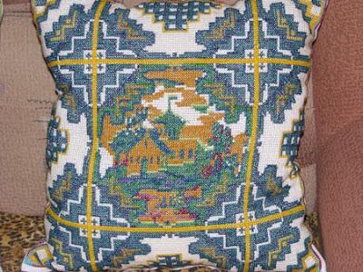 вышивание крестиком, вышивка, вышивание, вышивка подушек
