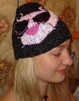 вязаная шапка, Сычева Ирина, вязание