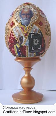 Андрус Елена - сувениры, яйца, иконы, инкрустация икон, шкатулки с бисером, продаю