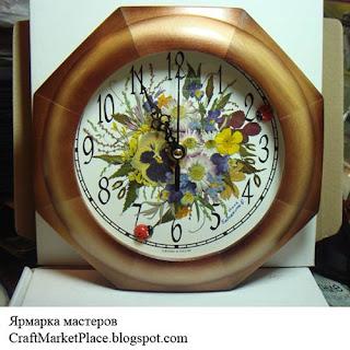 флористика, панно из сухоцветов