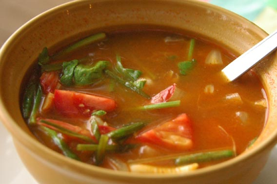Cooking Recipes Tom Yam Goong (Thailand Soup)