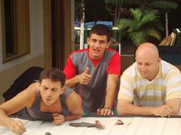 Pr. Carlos,Marcinho e Irmão Pedro são muitos projetos e sonhos a concluir...