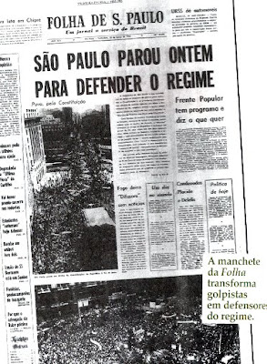 Crise da USP: &#8220;Folha de S. Paulo&#8221; continua semeando ditabrandas