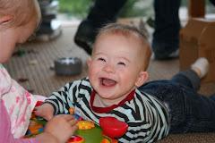Luke aged 9 months