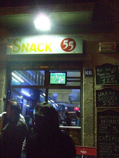 SNACK 55 - tanie jedzenie w Barcelonie