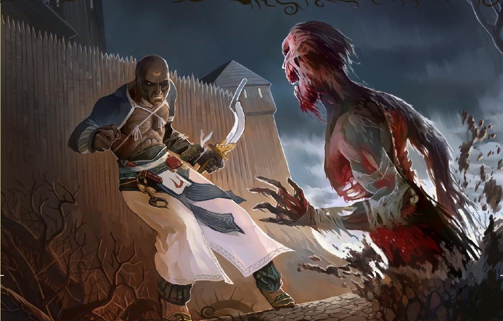 [Pathfinder] Kingmaker Zombies+at+the+Fort
