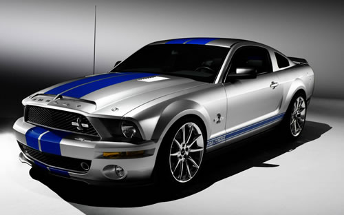 The Ford Mustang is driven