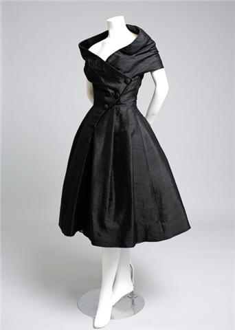 What are they wearing now: Vintage 50s Christian Dior ...