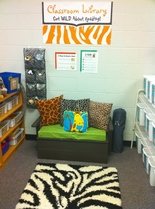 Zebra Classroom Ideas ~ Polka dot teacher it s a jungle in here