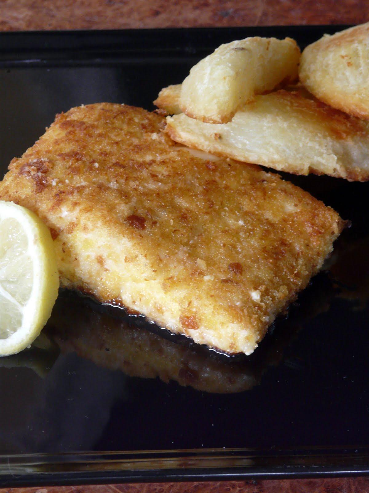 Parmesan-Panko Crusted Halibut Recipes — Dishmaps
