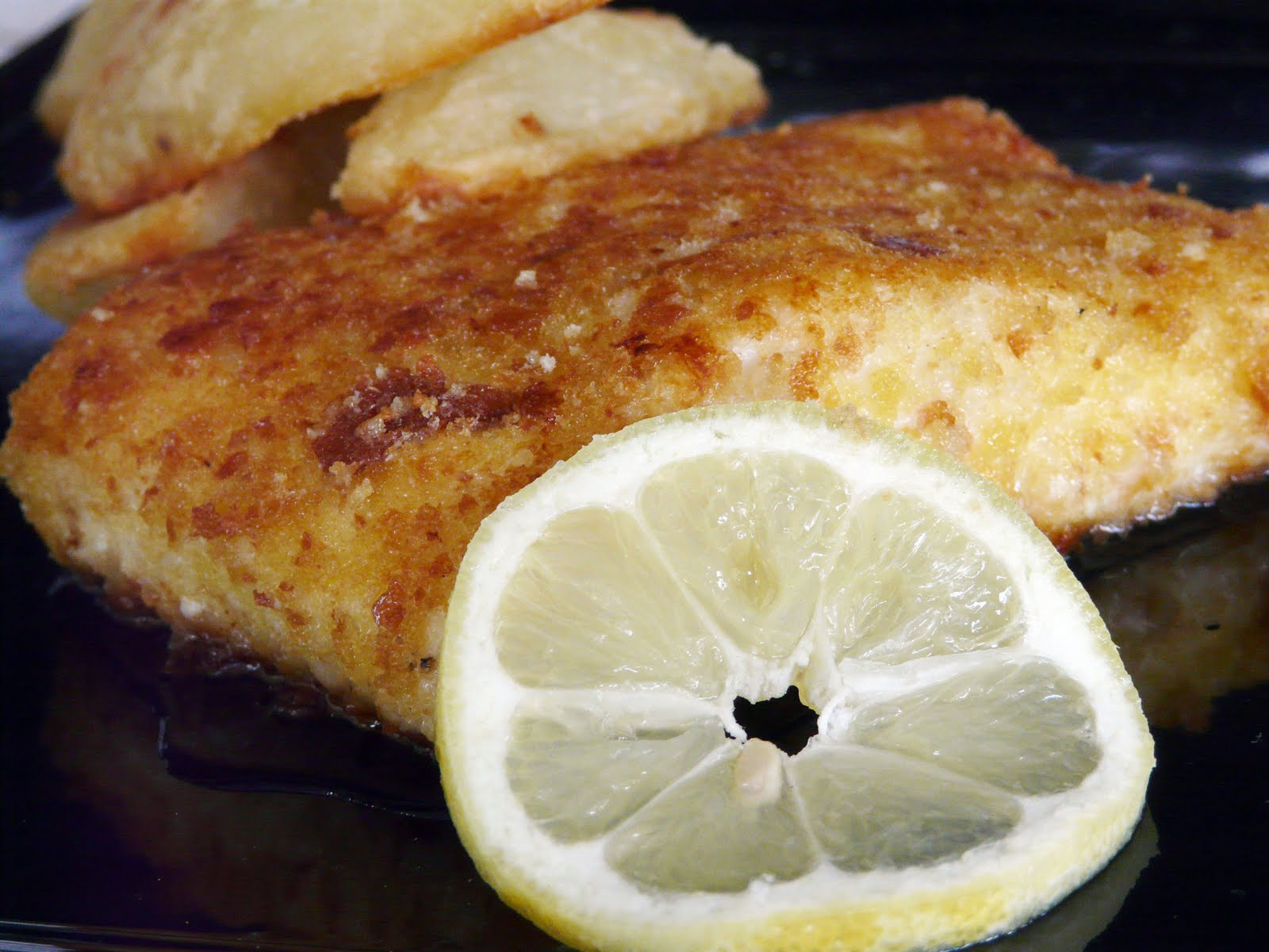 We had Parmesan Crusted Halibut for dinner Friday night. This is ...