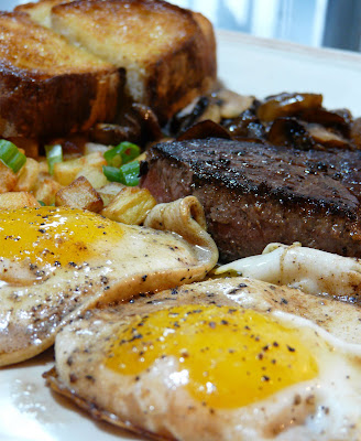 steak and eggs breakfast
