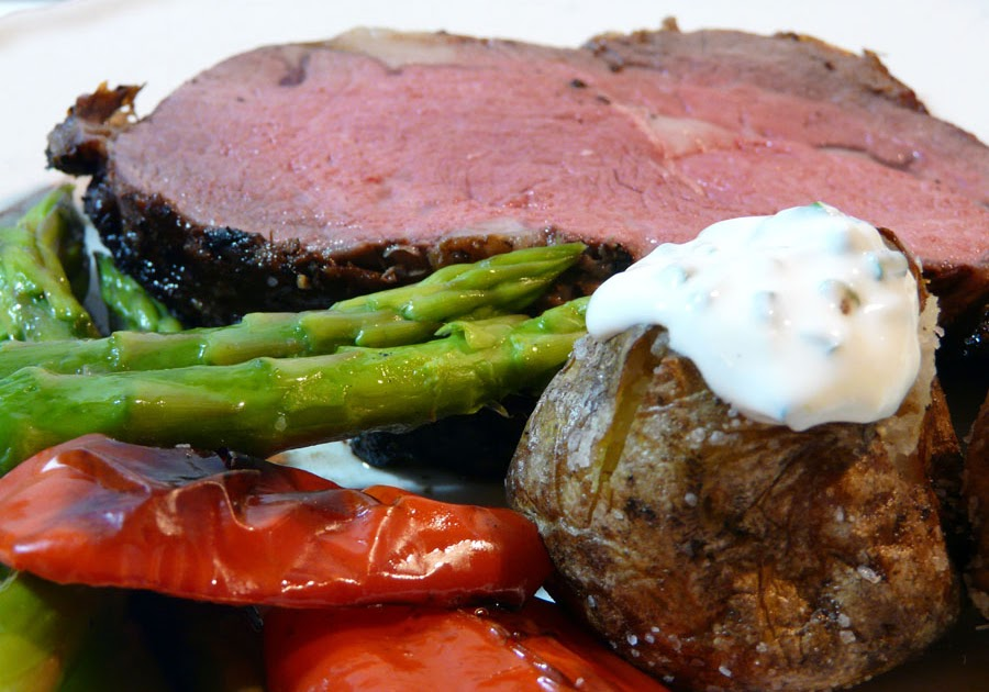 Thibeault's Table: Grilled Prime Rib for Two