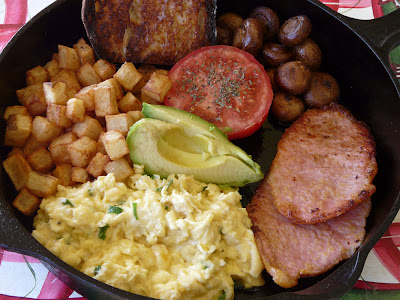 Skillet Breakfast Diner Style