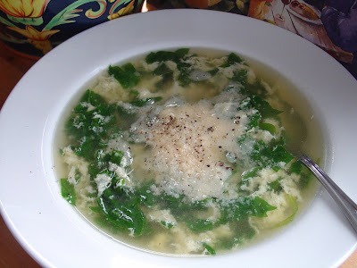 Stracciatella Soup Recipe — Dishmaps