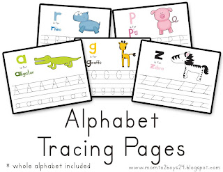 image relating to Printable Letter Papers known as LAWTEEDAH: Printables: Alphabet Tracing Papers