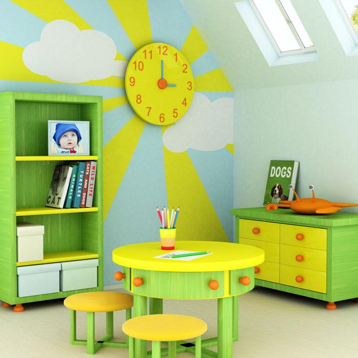 Решения для дизайна детской комнаты