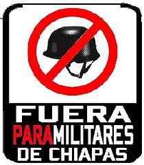 NO a los paramilitares