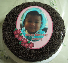 Moist Choc Cake + Edible Image