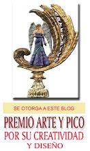 PREMIO ARTE Y PICO. Otorgado por Alexis Marrero (en política)