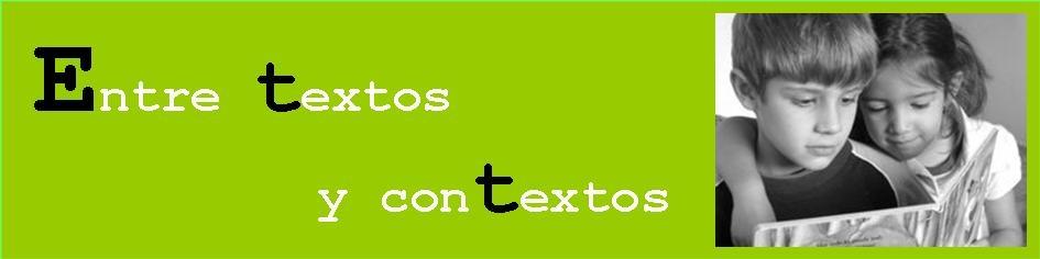 Entre textos y contextos