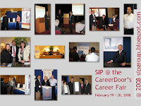 SIP at the CareerDoor's Career Fair February 2008