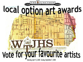 The Junction City Centennial Event: the Local Option Art Awards, poster by artjunction.blogspot.com