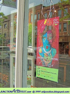 Poster: The Junction Arts Festival 2008, photo by artjunction.blogspot.com