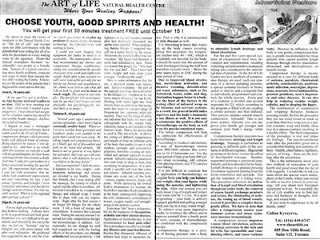 The Art Of Life: Choose Youth, Good Spirits And Health, by Galina Kyreyeva