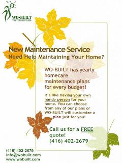 Poster: Wobuilt Home Maintenance Services