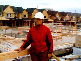 Photo: Elida Huignard at a volunteer shift during the Women Build Blitz