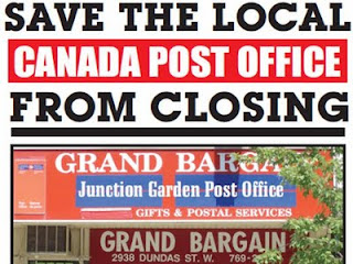 Save the Local Canada Post Office from Closing, by artjunction