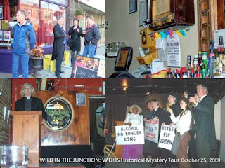 Photo: Wild Junction, Historical Mystery Tour: West Toronto Junction Historical Society Fundraiser and Pub Crawl, October 25, 2009