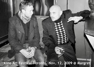 Photo: Toronto KinoArt Festival screening of Alexander Lipnitsky's documentary about history of russian rock at margret, november 12, 2009