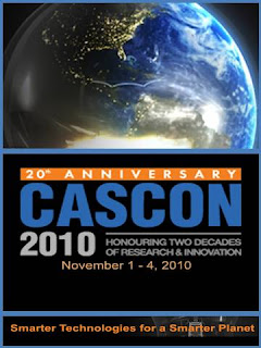 CASCON 2010, innovation computer science, ibm, Toronto, Ontario, Canada, November 1-4, 2010