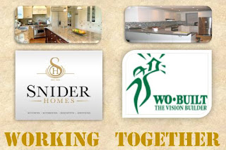 Collage: Working Together: Snider Homes, Wo-Built Inc. Design & Build Construction Company, Toronto ON Canada, by wobuilt og