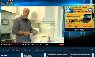 CTV NEWS Do-It-Yourself Getting Perfect Backsplash with Bryan Baeumler, host of HGTV's Disaster DIY, October 16, 2010